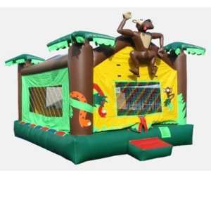 Kidwise 15x20 Foot Jungle Bounce House (Commercial Grade