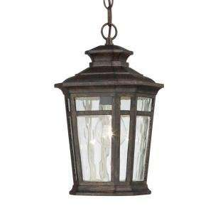 Hampton Bay 1 Light 7 in. Dark Ridge Bronze Outdoor Chain