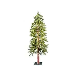 4 foot Hickory Cedar Tree with 100 Clear Lights Toys