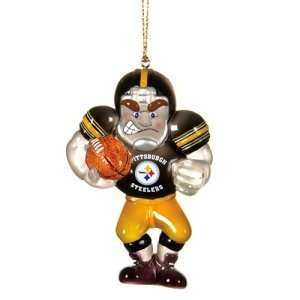 Pittsburgh Steelers NFL Acrylic Football Player Ornament
