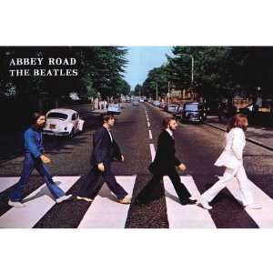 Beatles   Abbey Road Oversized Poster 6X3.5