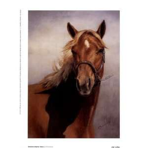 American Quarter Horse by Vi Thurmond 6x8 Kitchen