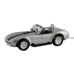Model Power HO Scale Die Cast 1965 Shelby Cobra   Silver w