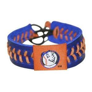 New York Mets Baseball Bracelet  Mr. Met Style
