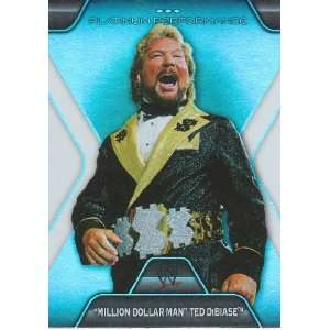 2010 Topps Platinum WWE Trading Card Platinum Performance Insert Card