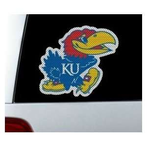 Kansas Jayhawks Die Cut Window Film   Large