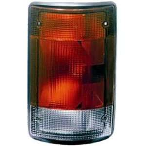 QP F3003 a Ford Van Passenger Tail Light Lens & Housing