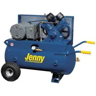 Jenny Products Inc 30 Gallon Tank 5 HP Electric 230 Volt Single Stage