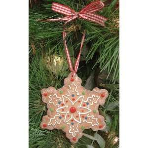 Christmas Ornament With Cookie Cutter & Recipe