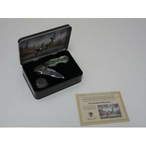 North American Hunting Club Signature Series Knife and Collectors Tin