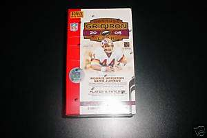 2006 DONRUSS GRIDIRON GEAR FOOTBALL CASE VALUE BOX 8PKS