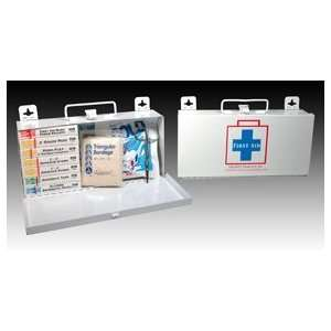 10 Person First Aid Kit (case w/supplies)