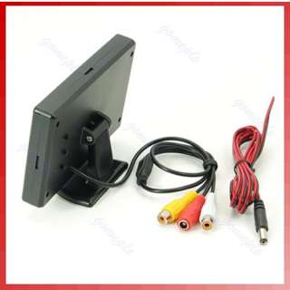 TFT LCD Car Reverse Rearview Color Monitor DVD VCR