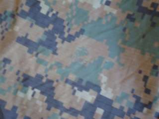 USMC Marine Corps Military Surplus MARPAT Coyote Brown Camo Field Tarp