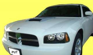 Dodge Charger 2006 2010 Hood Scoop   Factory OE Style   Primer